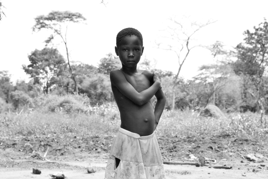 A child in the village of Mundri, South Sudan. Photo: Danielle Batist