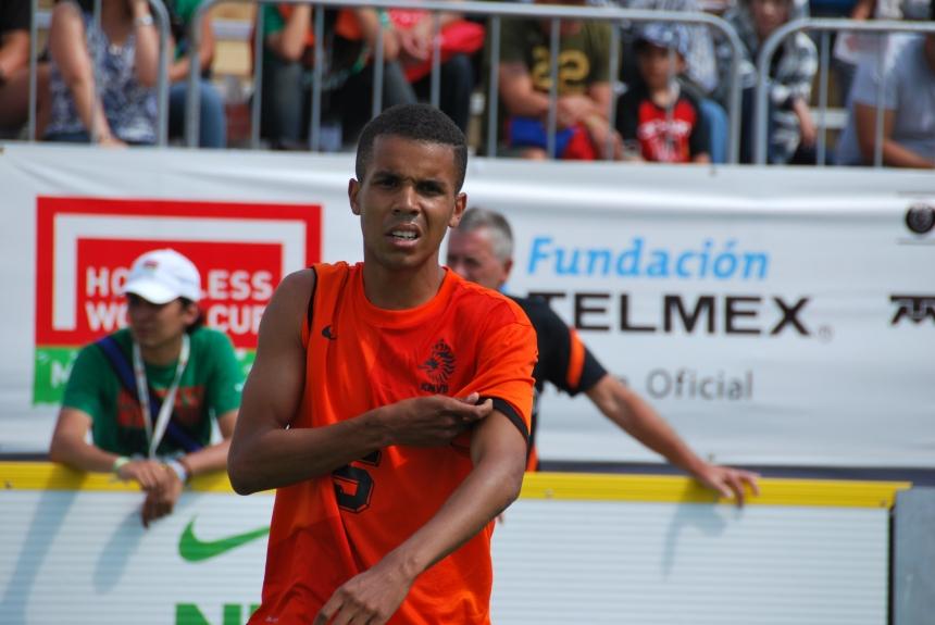 Randall tijdens de HWC Mexico 2012. Foto: Danielle Batist