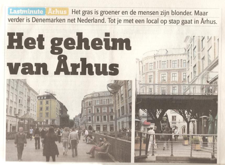 Het verhaal in dagblad De Pers, 17 november 2007.