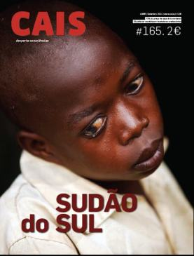Razigi on the cover of CAIS magazine, Portugal, August 2011.