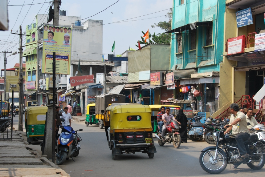 Bangalore, January 2012. Photo: Danielle Batist