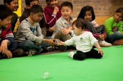Roots of Empathy classroom-baby Mei-photo Melanie Gordon